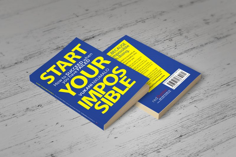 START YOUR IMPOSSIBLE - BOOK MOCK UP